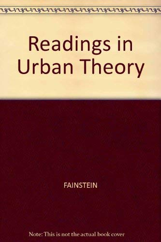 9781557866080: Readings in Urban Theory