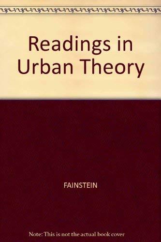 9781557866080: Readings in Urban Theory