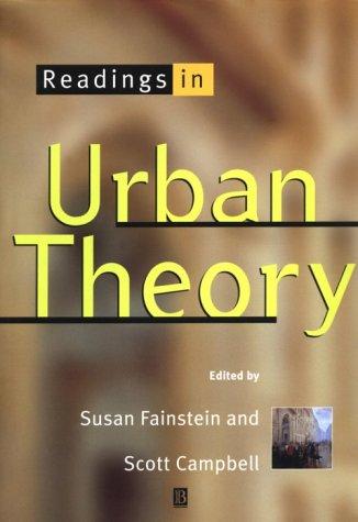 9781557866097: Readings in Urban Theory