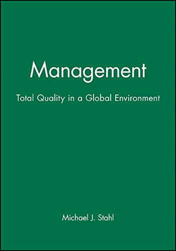 9781557866103: Management: Total Quality in a Global Environment