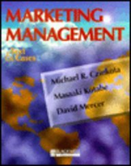 9781557866943: Marketing Management: Text and Cases