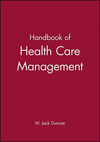 Handbook of Health Care Management (Blackwell Business): Linda E. Swayne,