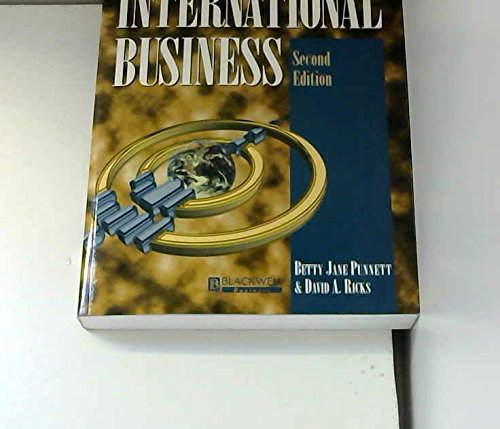 International Business: Betty Jane Punnett,