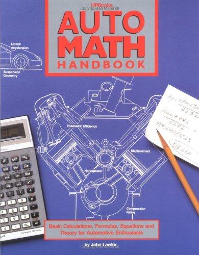 Auto Math Handbook HP: Lawlor, John