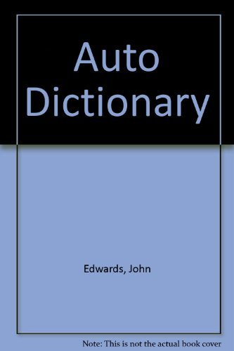 9781557880673: Auto Dictionary