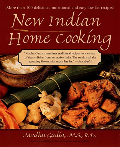 9781557883438: New Indian Home Cooking: More Than 100 Delicious, Nutritional and Easy Low-Fat Recipes