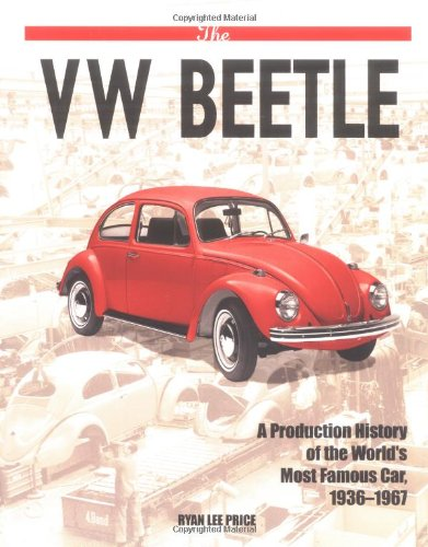 9781557884213: The VW Beetle: A Production History Of The World's Most Famous Car, 1936-1967