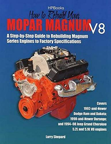 How to Rebuild Mopar Magnum V8 Engines HP1431 (1557884315) by Shepard, Larry