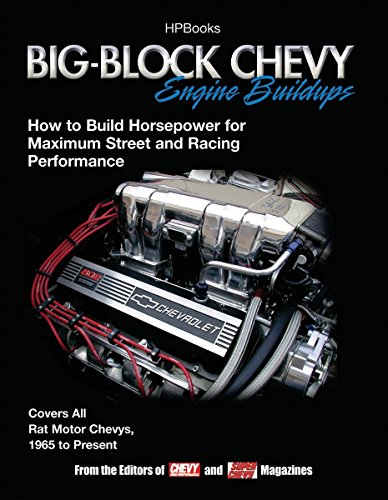 9781557884848: Big-Block Chevy Engine Buildups: How to Build Horsepower for Maximum Street and Racing Performance
