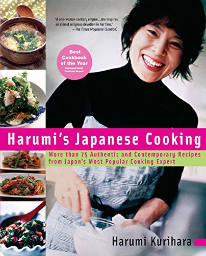 9781557884862: Harumi's Japanese Cooking: More Than 75 Authentic and Contemporary Recipes from Japan's Most Popularcooking Expert