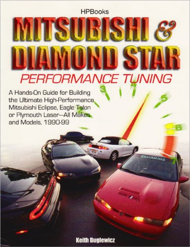 Mitsubishi & Diamond Star Performance TuningHP1496: A Hands-On Guide for Building the Ultimate ...