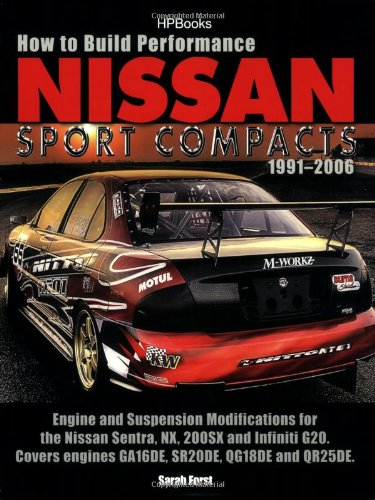 9781557885418: How To Build Performance Nissan Sport Compacts, 1991-2006