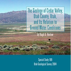 The Geology of Cedar Valley, Utah County, Utah, and Its Relation to Ground-Water Conditions. PLEASE...