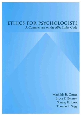 9781557982599: Ethics for Psychologists: A Commentary on the Apa Ethics Code