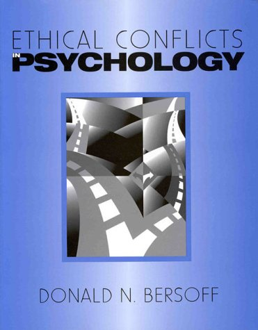 9781557983022: Ethical Conflicts in Psychology