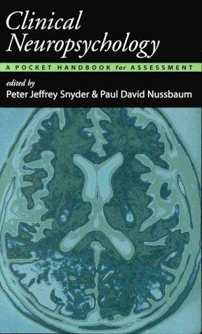 9781557985149: Clinical Neuropsychology: A Pocket Handbook for Assessment
