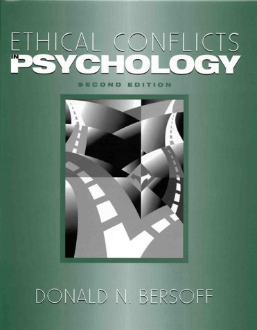 9781557985910: Ethical Conflicts in Psychology