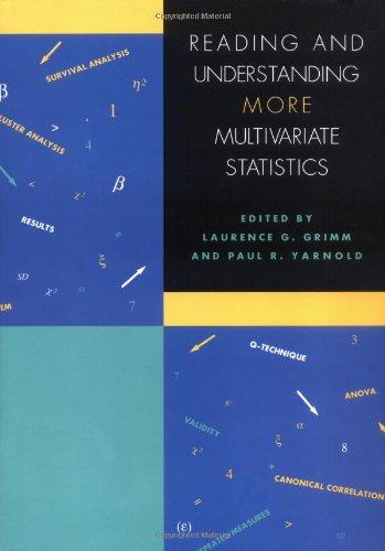 9781557986986: Reading and Understanding More Multivariate Statistics: