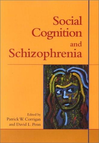 9781557987747: Social Cognition and Schizophrenia