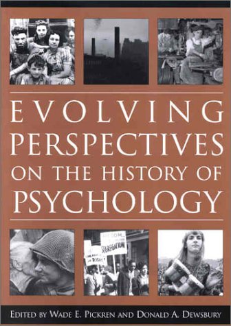 9781557988829: Evolving Perspectives on the History of Psychology