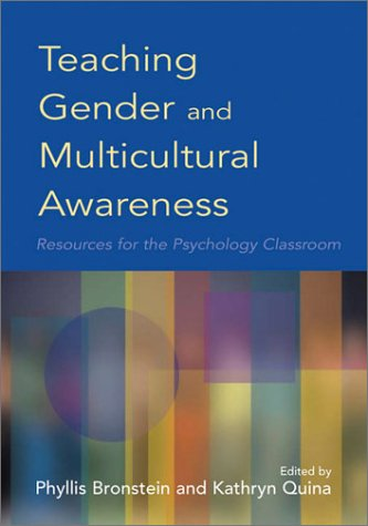 9781557989918: Teaching Gender and Multicultural Awareness: Resources for the Psychology Classroom