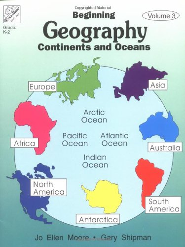 Geography School Book Cover Ideas ~ Beginning geography continents oceans abc
