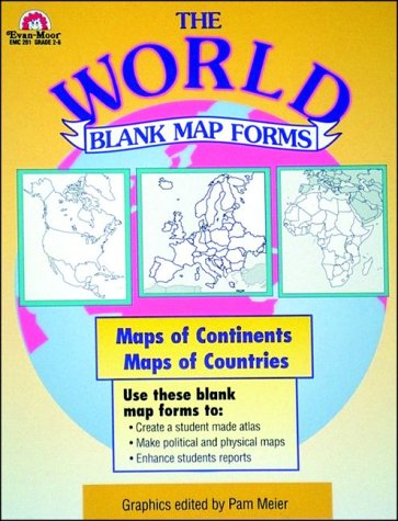 9781557992772: The World-Blank Map Forms