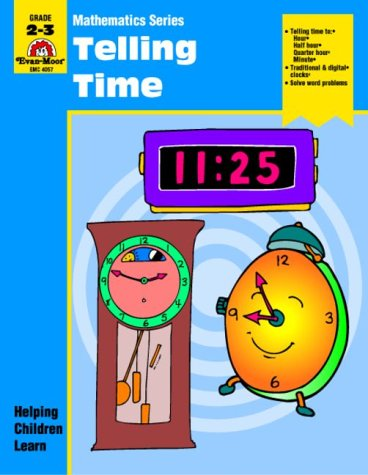 9781557994554: Telling Time (Mathematics Series)