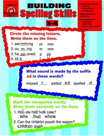 9781557996534: Building Spelling Skills: Grades 3-4