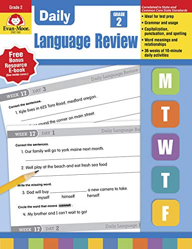 9781557996565: Daily Language Review, Grade 2 (Daily Practice Series)