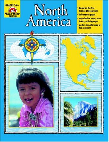 9781557997104: North America, Grades 3-6 (Geography United States)