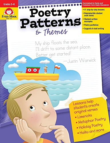 9781557997333: Poetry Patterns & Themes: Grades 3-6+