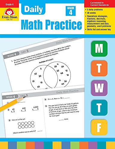 9781557997449: Daily Math Practice, Grade 4