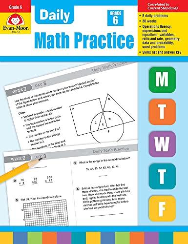 Daily Math Practice, Grade 6+: Evan-Moor