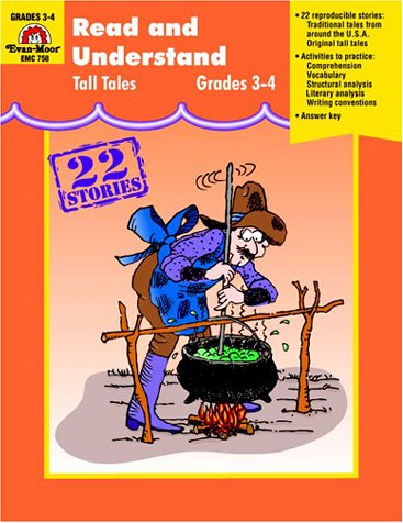 9781557997517: Read and Understand Tall Tales, Grades 3-4
