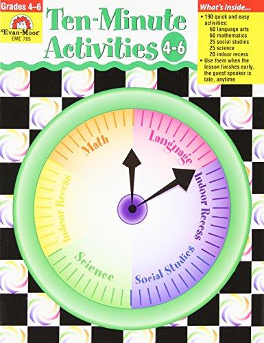 Ten-Minute Activities, Grades 4-6: Moor, Evan