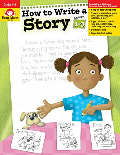 Download How to Write a Story, Grades 1-3