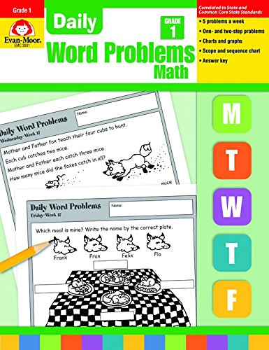 9781557998132: Daily Word Problems, Grade 1 Math