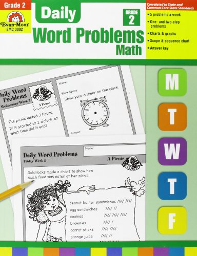 9781557998149: Daily Word Problems Grade 2