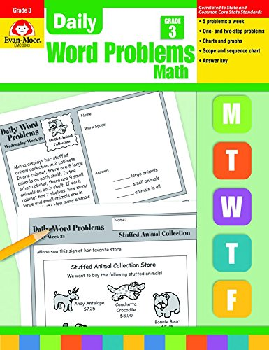 9781557998156: Daily Word Problems, Grade 3