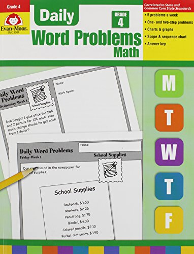9781557998163: DAILY WORD PROBLEMS GRADE 4 TE