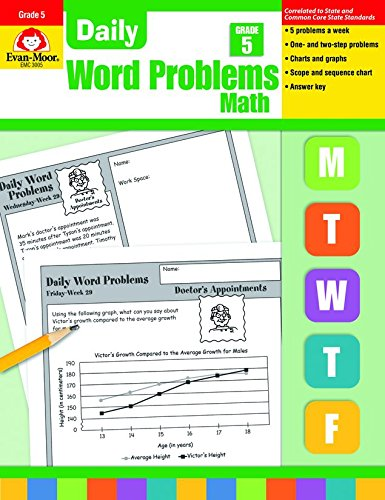 9781557998170: Daily Word Problems, Grade 5
