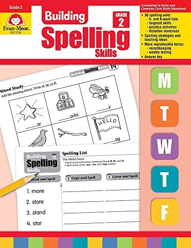 9781557998408: Building Spelling Skills, Grade 2