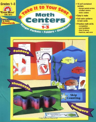 9781557998538: Take It to Your Seat Math Centers, Grades 1-3