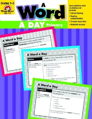 A Word a Day, Grades 1-3: Evan Moor