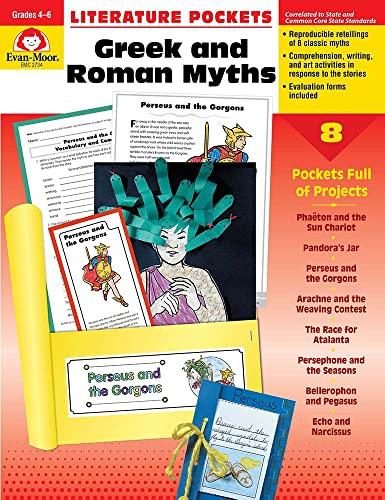 Literature Pockets, Greek Roman Myths, Grades 4-6