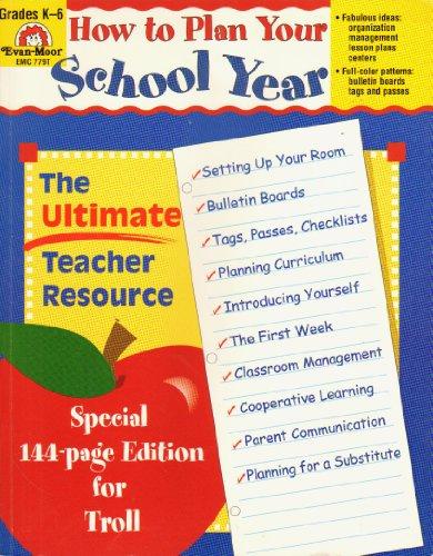 """How to Plan Your School Year"""" (The: Jill Norris/Jeff Fessler"""
