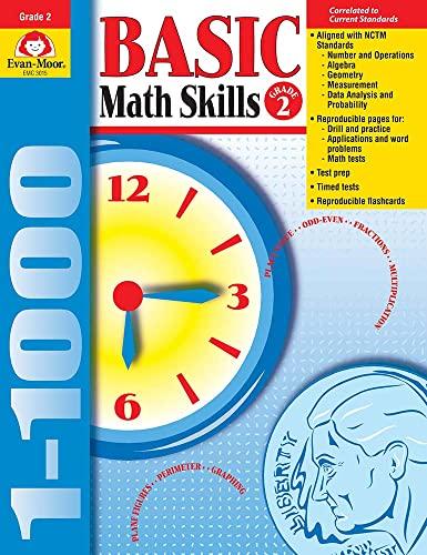9781557998972: Basic Math Skills, Grade 2