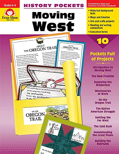 9781557999023: History Pockets: Moving West, Grades 4-6+