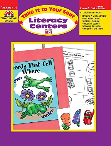 9781557999290: Take It to Your Seat Literacy Centers, Grades K-1
